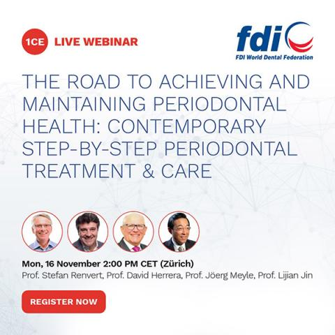 FDI World Oral Health Campus webinar