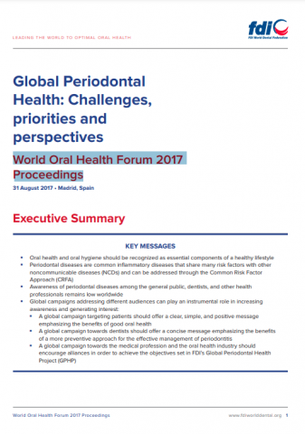 Global periodontal health_Challenges, priorities and perspectives_proceedings