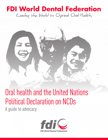 Oral health and the United Nations Political Declaration on NCDs_toolkit