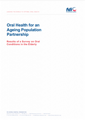 Oral health for an ageing population_Results of a survey on oral conditions in the elderly_survey