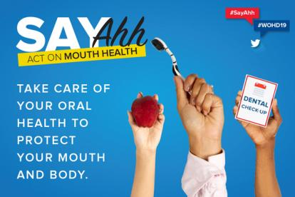 FDI World Oral Health Day Say Ahh