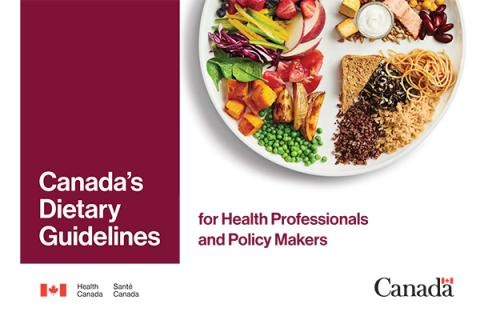 FDI network_Health Canada_Canada's Dietary Guidelines for Health Professionals and Policy Makers
