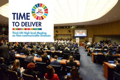 FDI netwrok_UN High-level Meeting on Noncommunicable Diseases