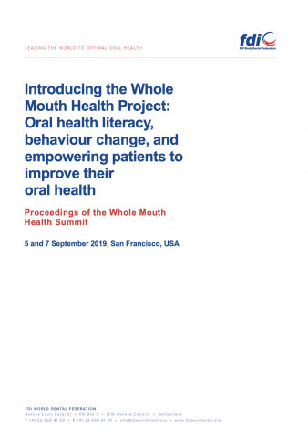 Whole Mouth Health Statement